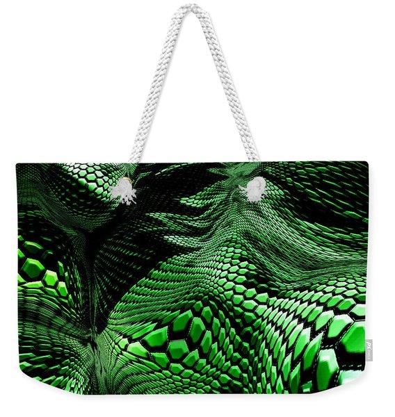 Dragon Skin Weekender Tote Bag