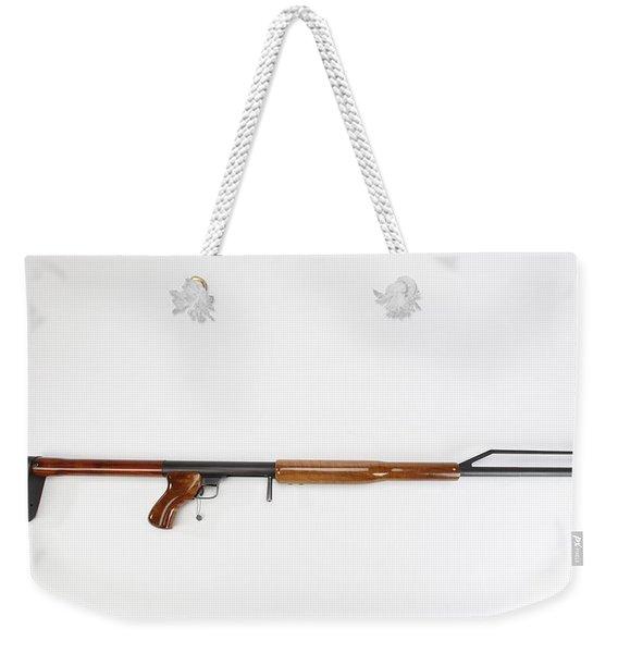 Ljutic Space Rifle Weekender Tote Bag