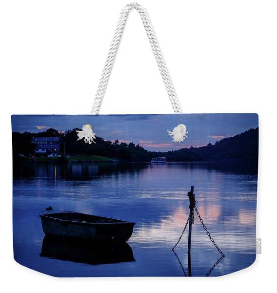 Llyn Padarn, Llanberis Weekender Tote Bag