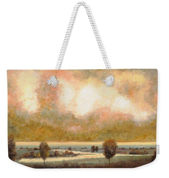 Lo Stagno Sotto Al Cielo Weekender Tote Bag