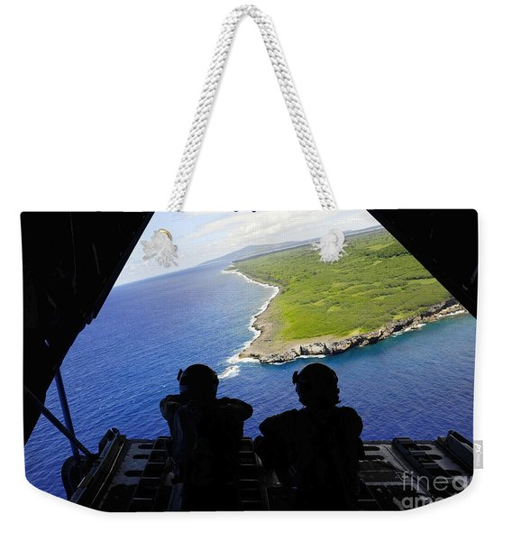 Loadmasters Look Out Over Tumon Bay Weekender Tote Bag