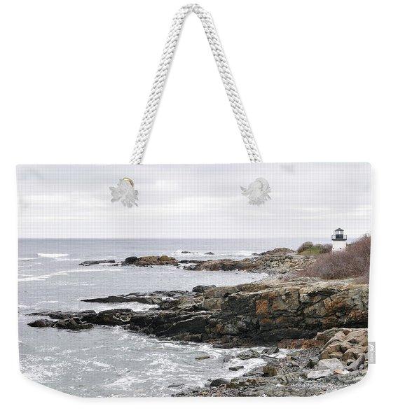 Lobster Point Lighthouse - Ogunquit Maine Weekender Tote Bag