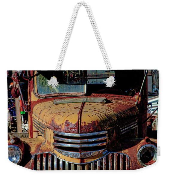 Lobster Pots And Chevys Weekender Tote Bag