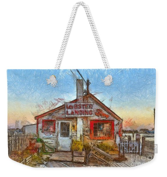 Lobster Shack Pencil Weekender Tote Bag