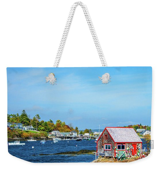 Lobstermen's Shack Weekender Tote Bag