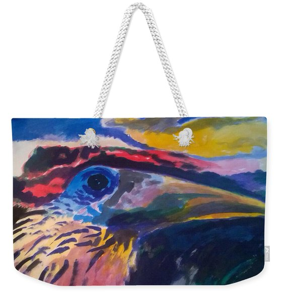 L'occhio Del Tucano Weekender Tote Bag