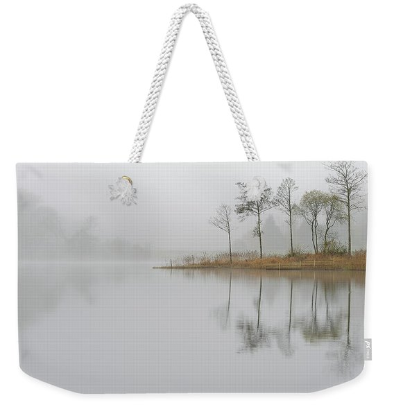 Loch Ard Misty Sunrise Weekender Tote Bag