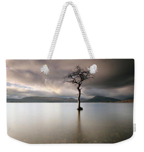 Loch Lomond Lone Tree Weekender Tote Bag