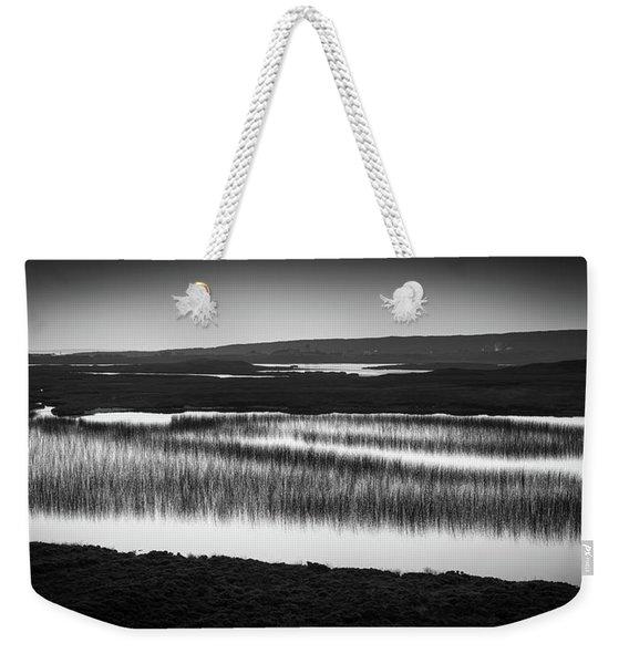 Loch Na Maracha, Isle Of Harris Weekender Tote Bag
