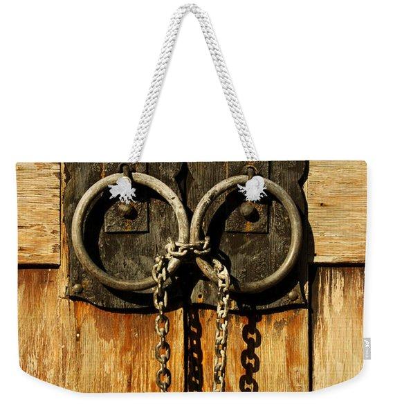 Locked Out Weekender Tote Bag