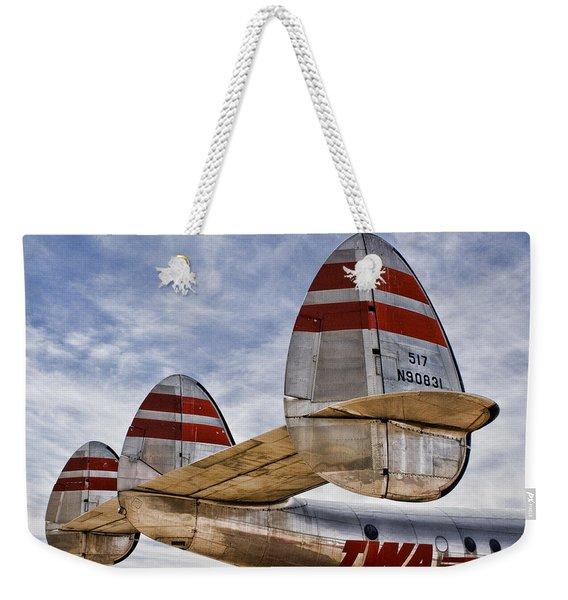Lockheed Constellation Weekender Tote Bag