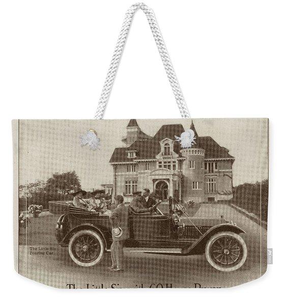 Locomobile Advertisement Weekender Tote Bag