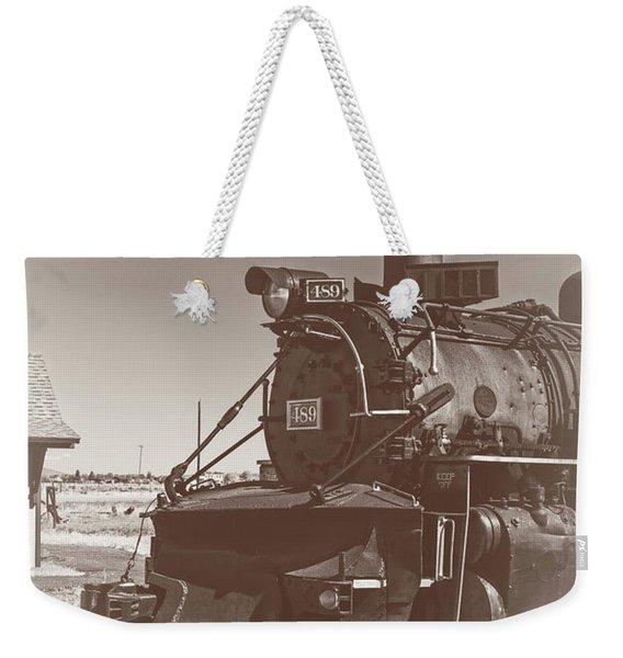 Locomotive 489 Weekender Tote Bag