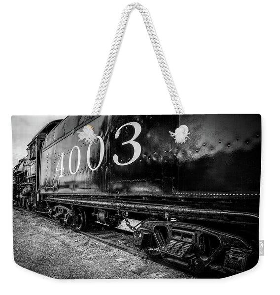 Locomotive Engine Weekender Tote Bag