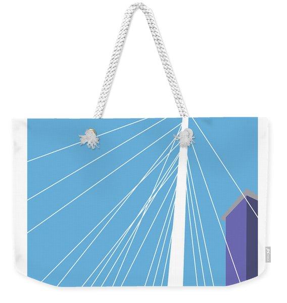 Lodo/blue Weekender Tote Bag