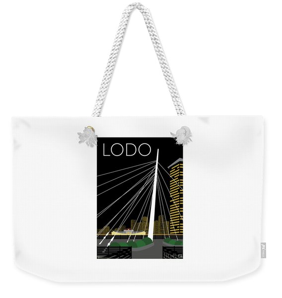 Lodo By Night Weekender Tote Bag
