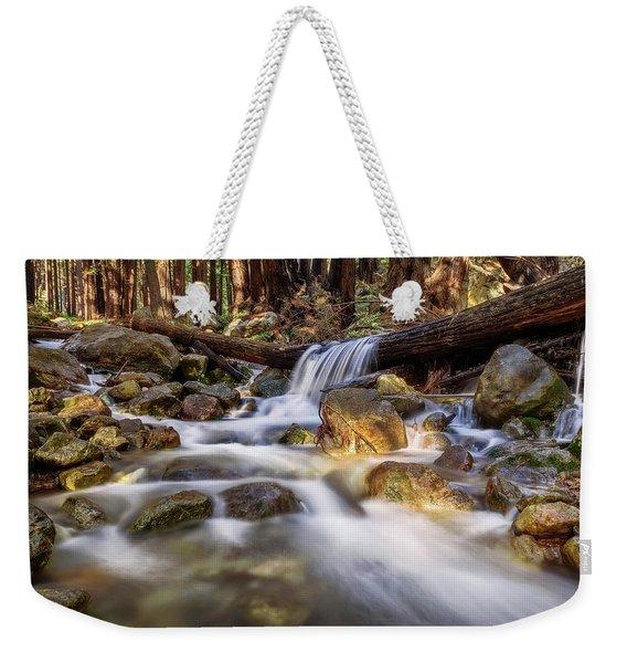 Log Falls On Limekiln Creek Weekender Tote Bag
