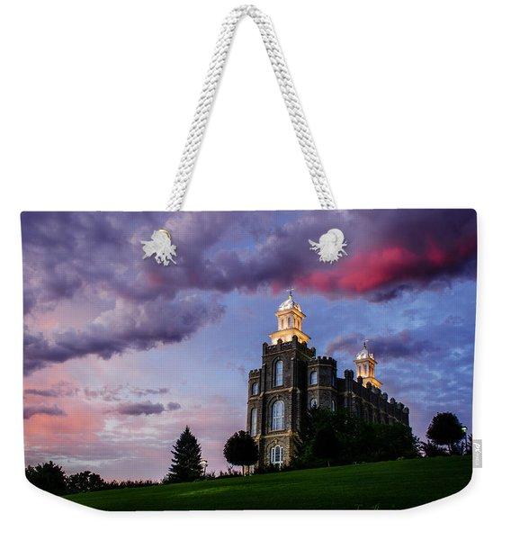 Logan Temple Heaven's Light Weekender Tote Bag