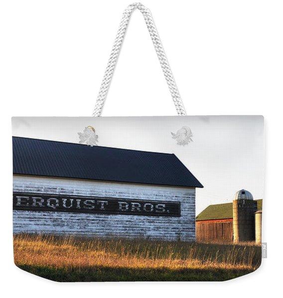Logerquist Bros. Weekender Tote Bag