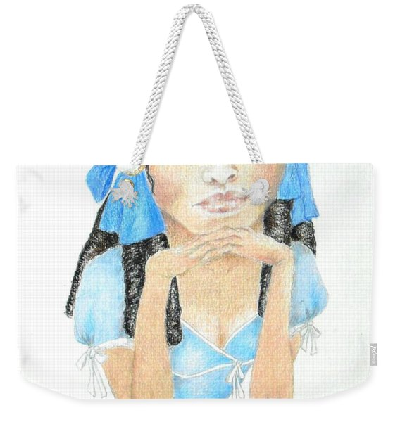 Lolita -- Portrait Of Fictional Character Weekender Tote Bag