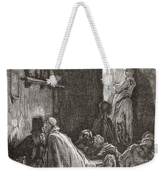 London, 1871, After An Unpublished Weekender Tote Bag