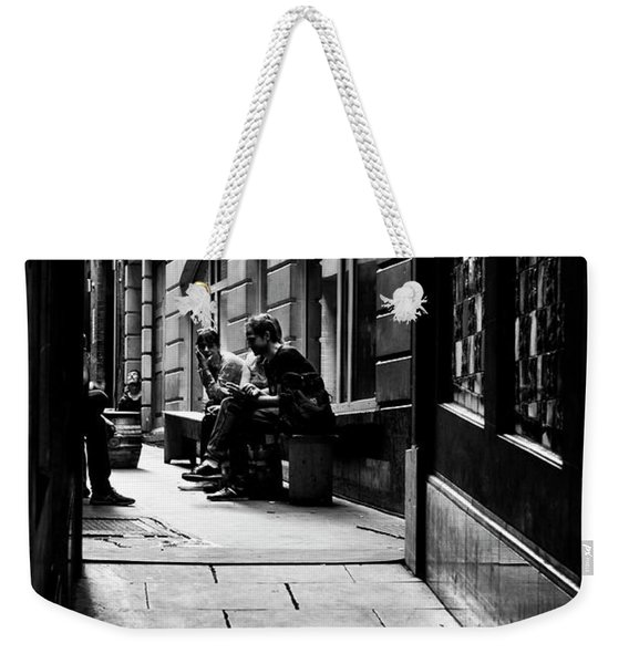 London Backstreet Alley Weekender Tote Bag