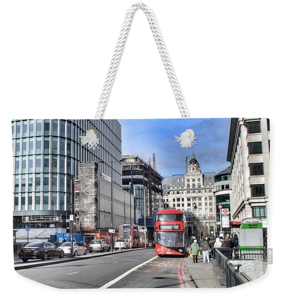 London City Weekender Tote Bag