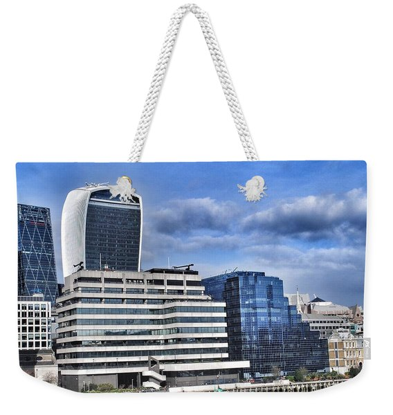 Structures In London  Weekender Tote Bag