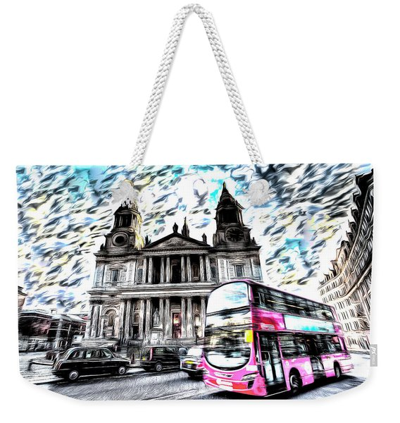 London Classic Art Weekender Tote Bag