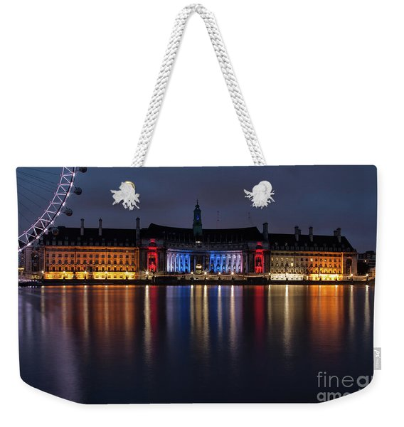 London County Hall Weekender Tote Bag