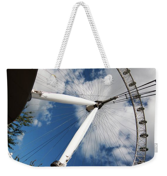 London Ferris Wheel Weekender Tote Bag