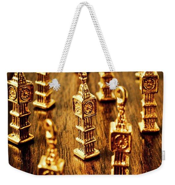 London Gold Weekender Tote Bag