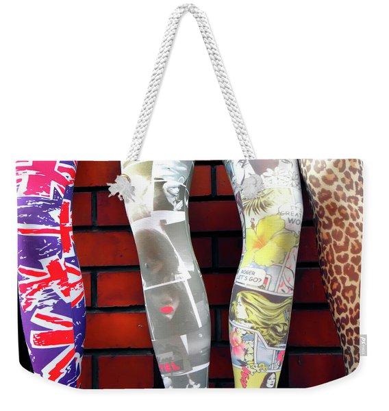 London Legs Weekender Tote Bag