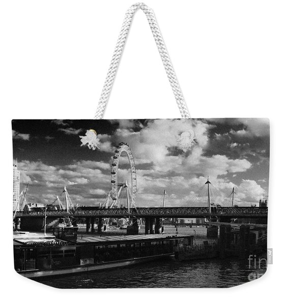 London S Skyline Weekender Tote Bag