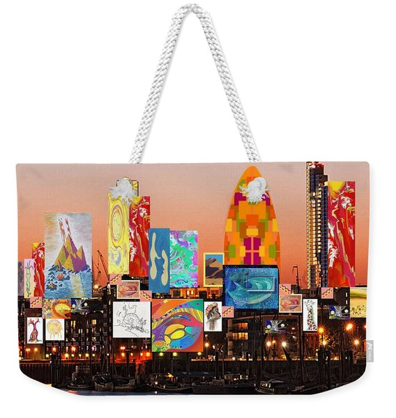 London Skyline Collage 2 Weekender Tote Bag