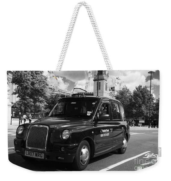 London Taxi Weekender Tote Bag