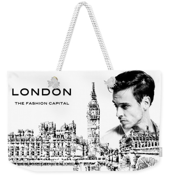 London The Fashion Capital Weekender Tote Bag