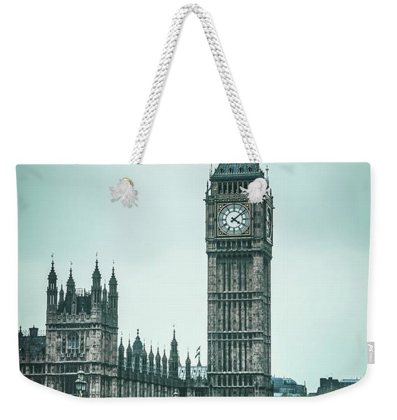London Times Weekender Tote Bag