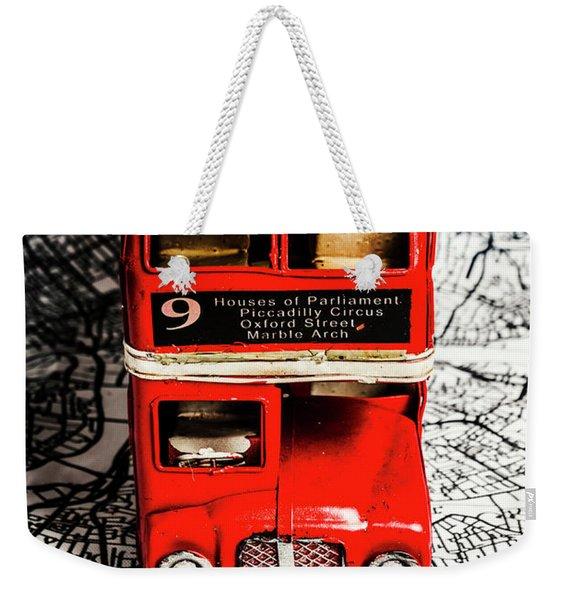 London Tours Weekender Tote Bag