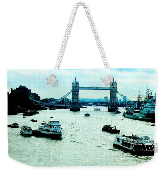 London Uk Weekender Tote Bag