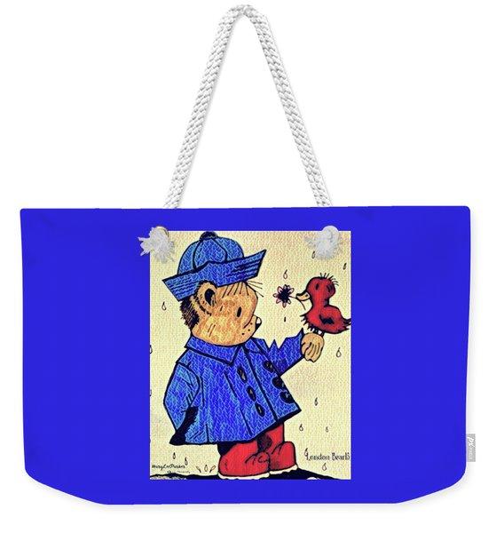 Londonbear And Bensonduck  Weekender Tote Bag