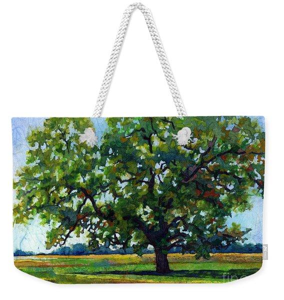 Lone Oak Weekender Tote Bag
