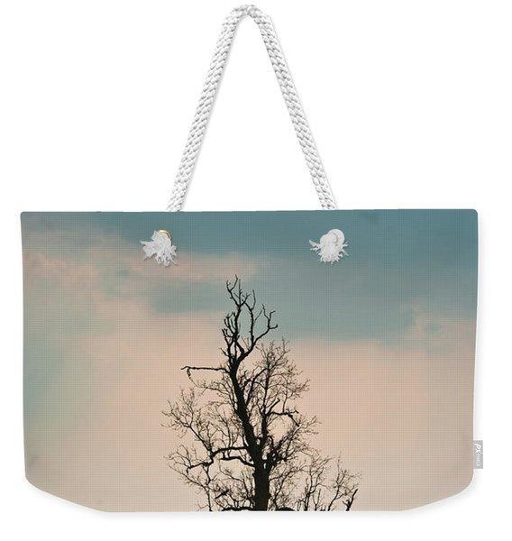 Lone Tree In Rape Field 1 Weekender Tote Bag