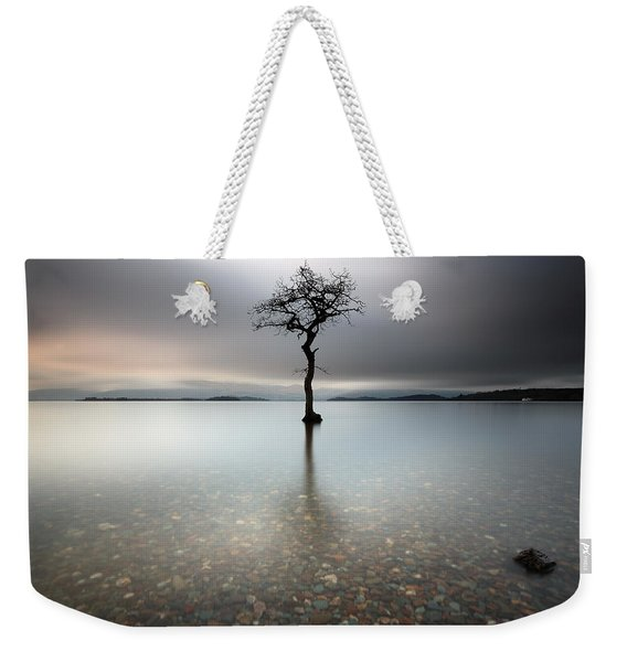 Lone Tree Loch Lomond Weekender Tote Bag