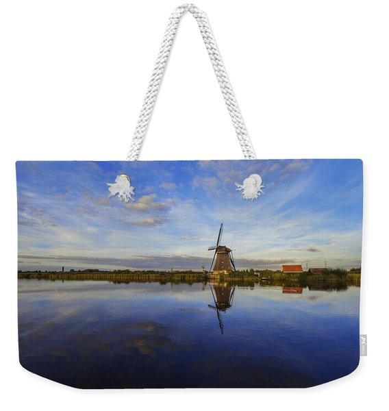 Lone Windmill Weekender Tote Bag