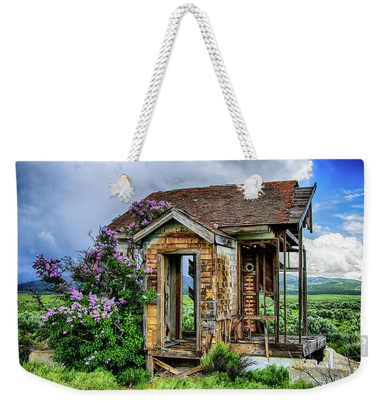 Lonely Lilacs Weekender Tote Bag
