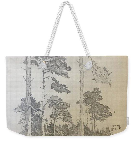 Lonely Pines Weekender Tote Bag
