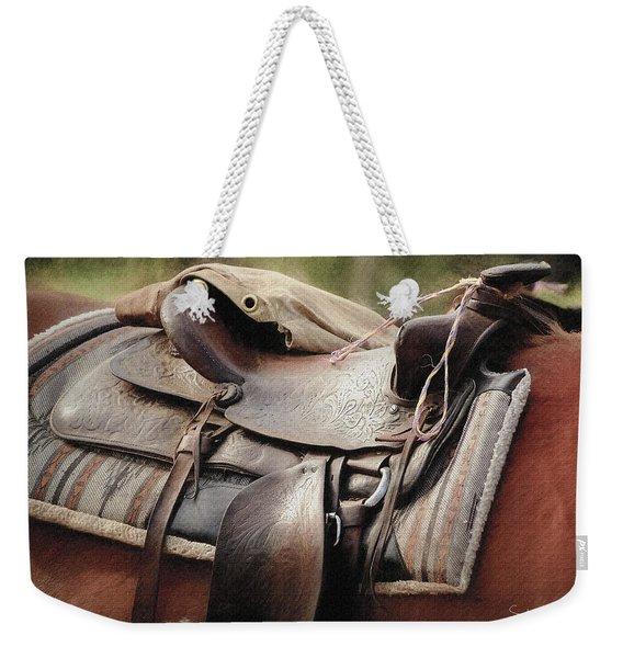 Lonely Saddle  Weekender Tote Bag