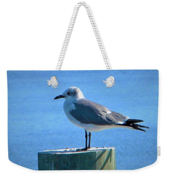 Lonely Seagull Weekender Tote Bag