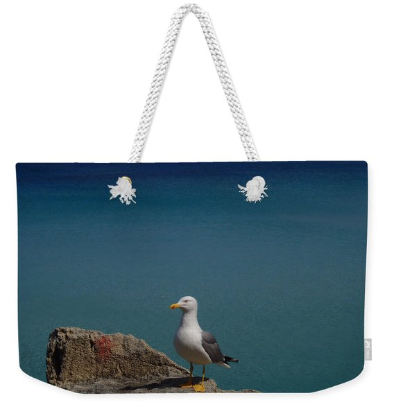 Lonely Seagull Weekender Tote Bag